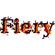 Fiery Text